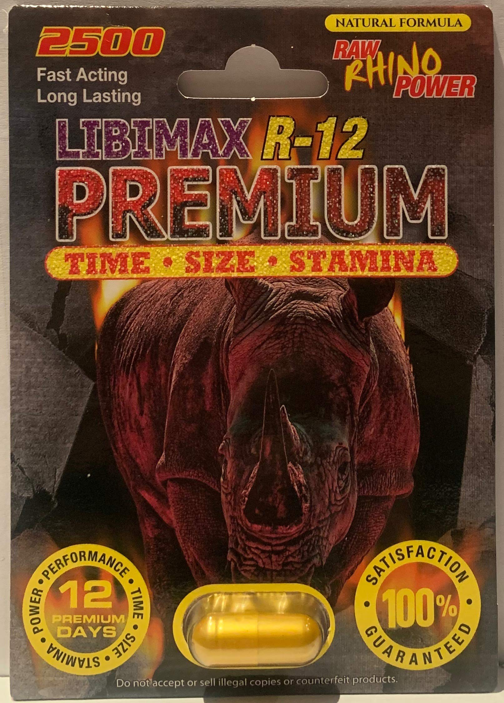 Libimax R-12 Premium Power 2500mg Limited Edition (24)