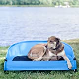 Gen7Pets Trailblazer Blue Cool-Air Cot for Dogs and Cats up to 60lbs