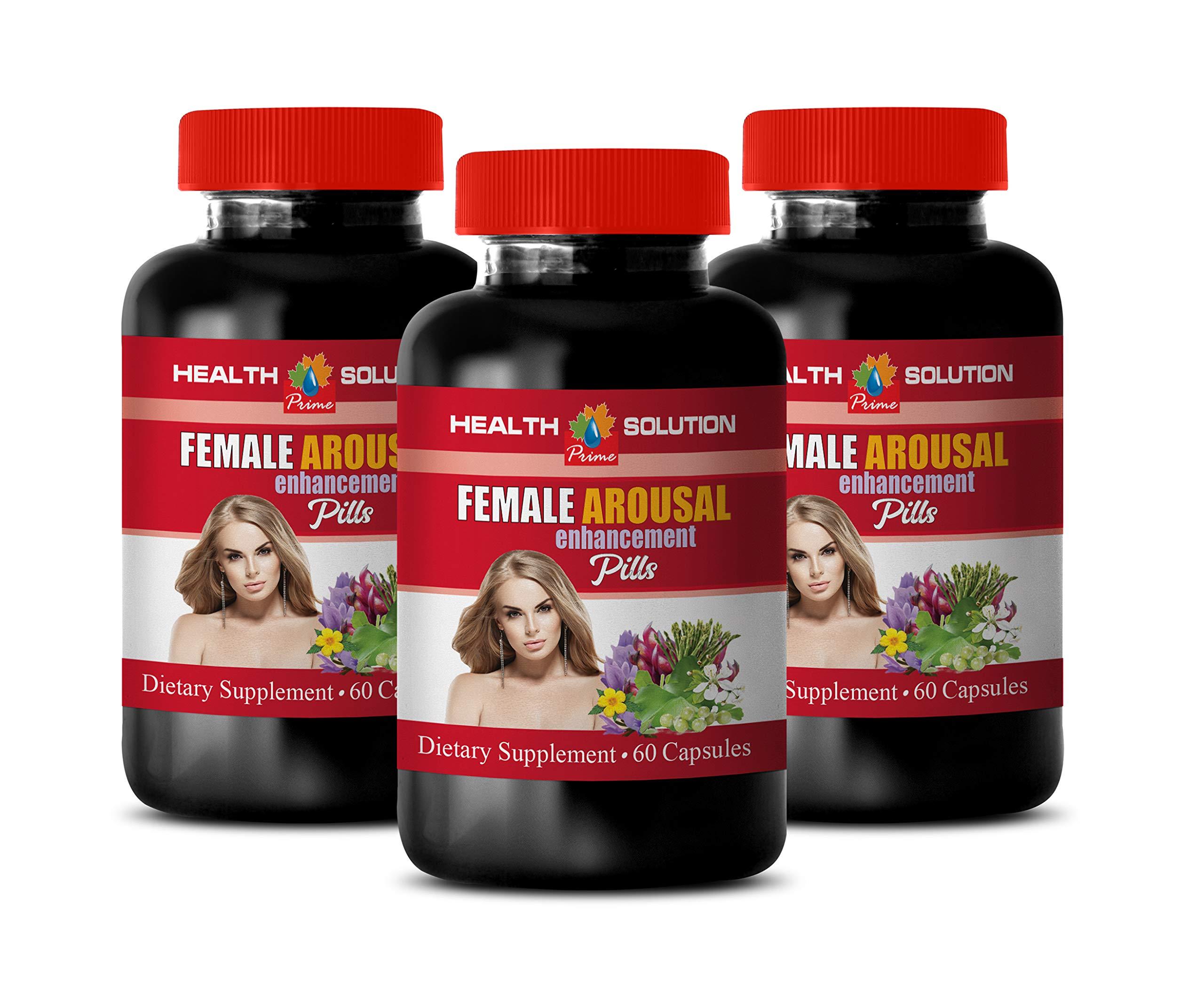 Female libido Supplement Boost - Female Arousal Enhancement Pills - Dietary Supplement - Ginkgo biloba for Women - 3 Bottles 180 Capsules