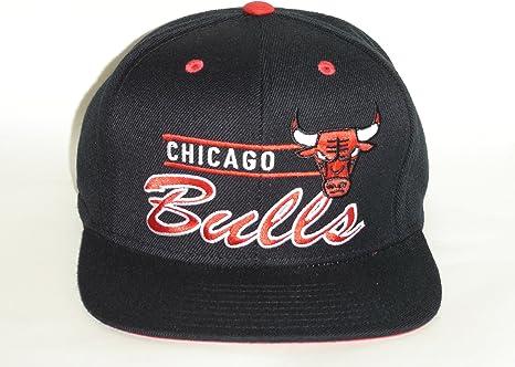 adidas – Gorra del equipo de baloncesto de la NBA Chicago Bulls ...