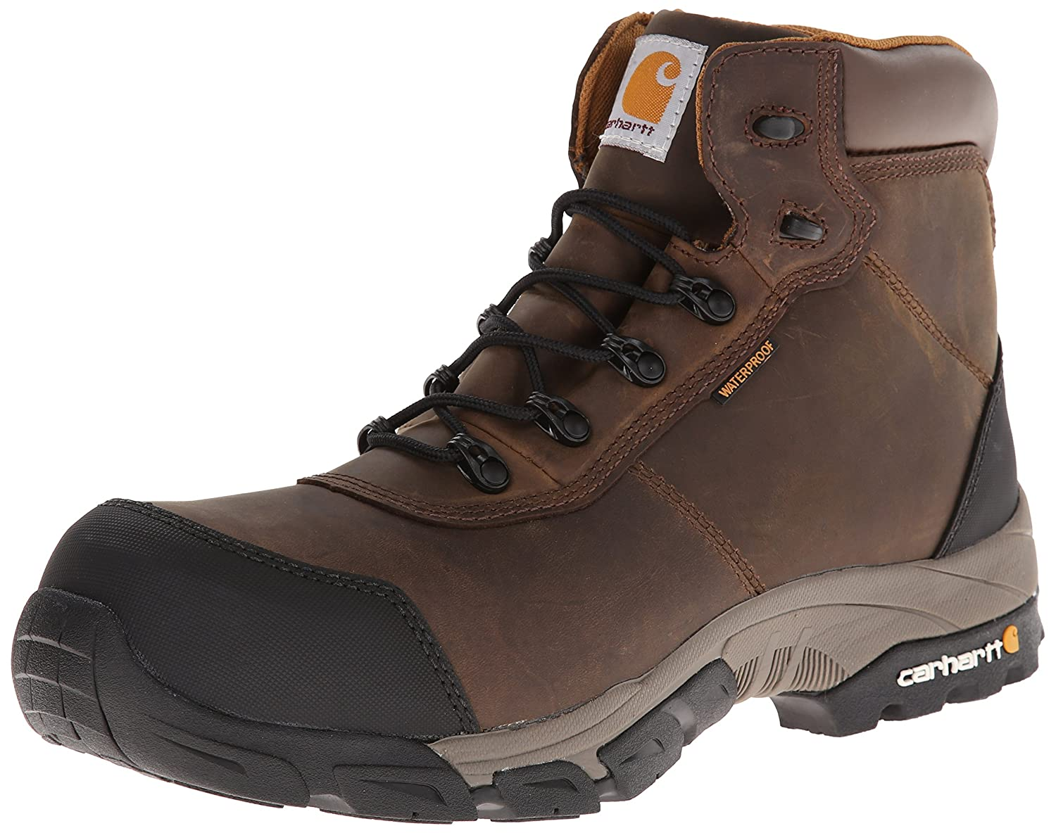 Carhartt メンズ B00DY9Y7QC  Brown Oil Tanned Leather 8 D(M) US