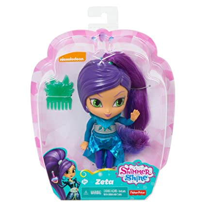 "Zeta The Sorceress Doll 5.5/"" Shimmer /& Shine"