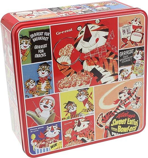Kelloggs – Caja metálica rojo lata caja de almacenamiento Cocina ...