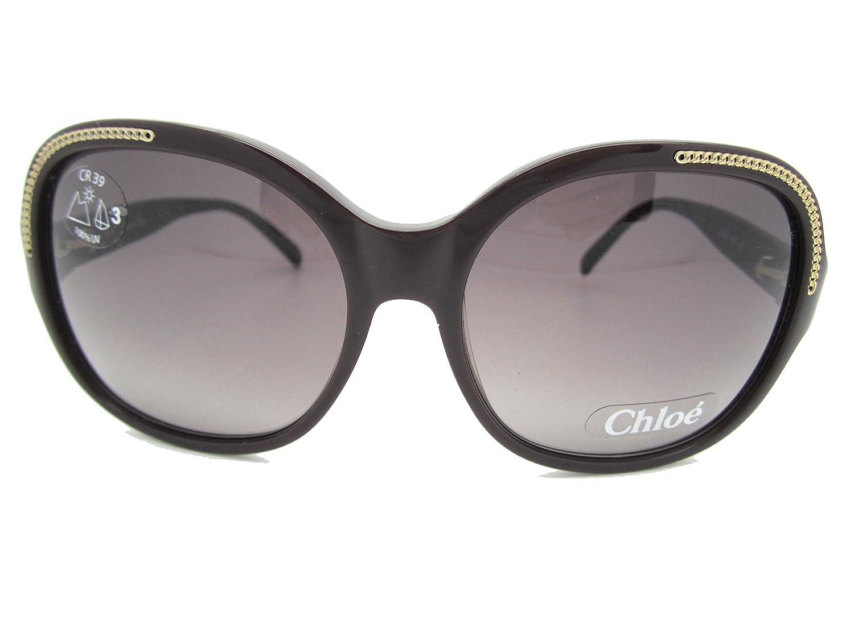 Amazon.com: anteojos de sol Chloe CL 2210 Marrón Oscuro ...