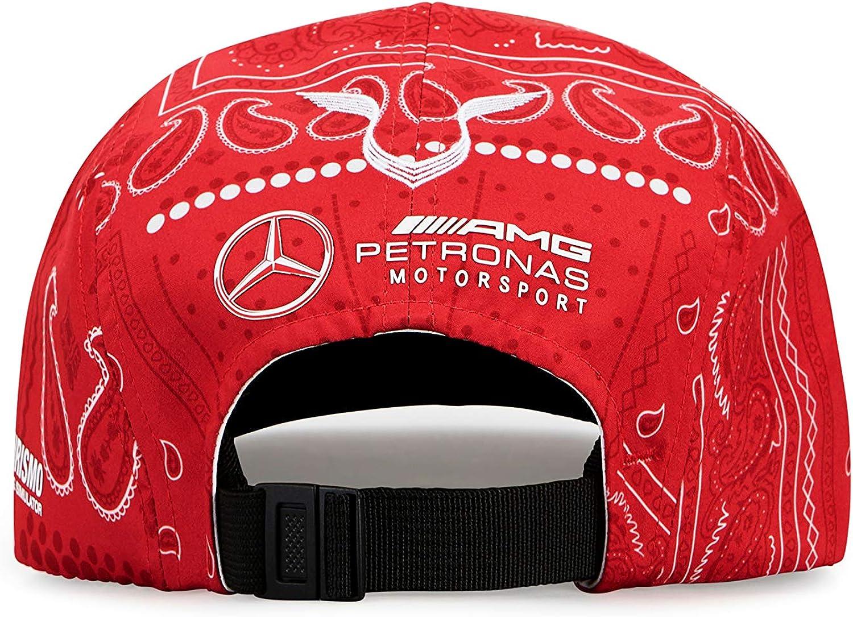 Mercanc/ía Oficial de F/órmula 1 Rouge Casquette Lewis Hamilton Special Edition Silverstone Mercedes-AMG Petronas