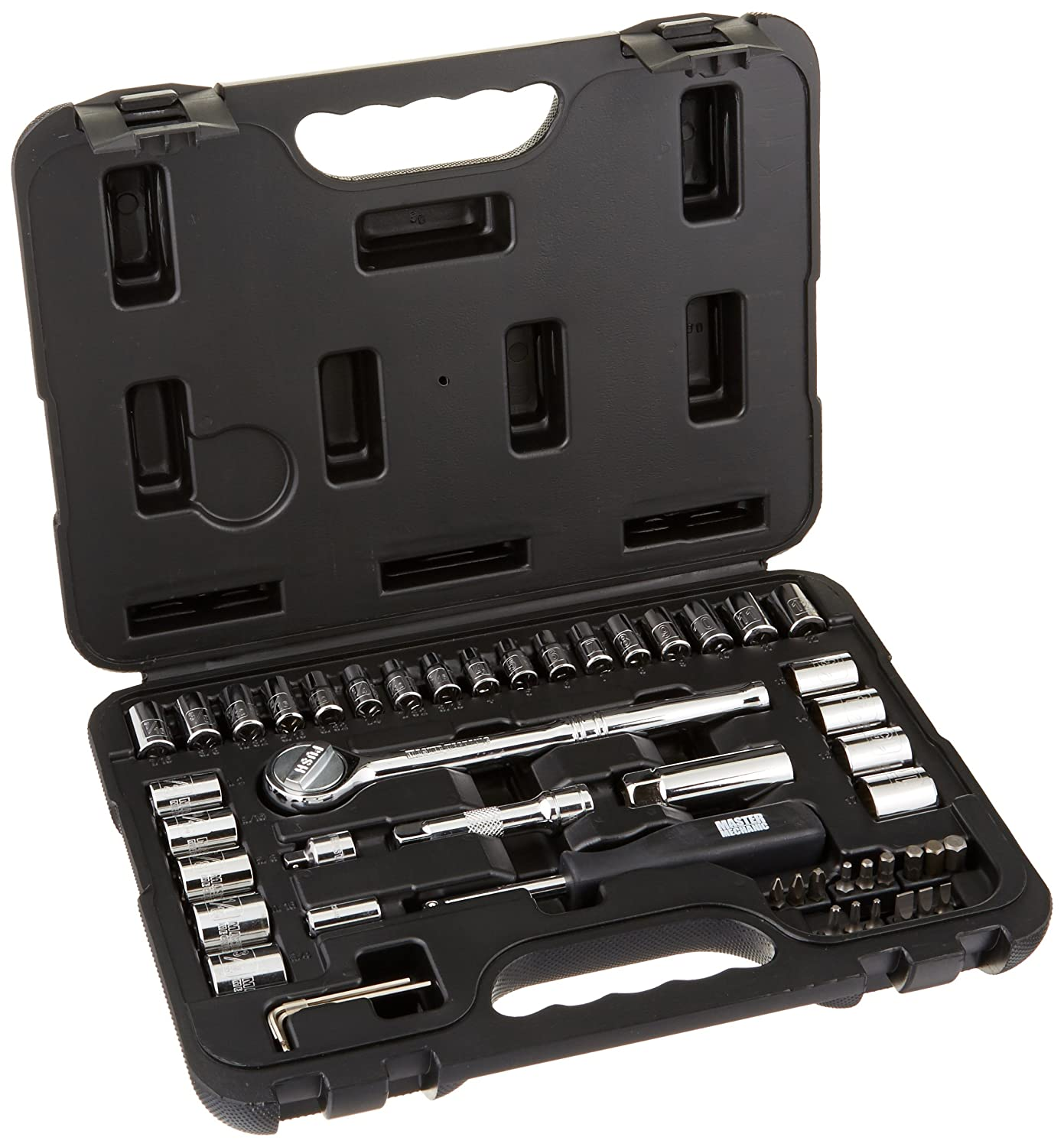 APEX TOOL GROUP-ASIA 117850 Master Mechanic Mutitool Accessories (50 Piece), 1/4 x 3/8 by Apex Tool Group B002T4JMT0
