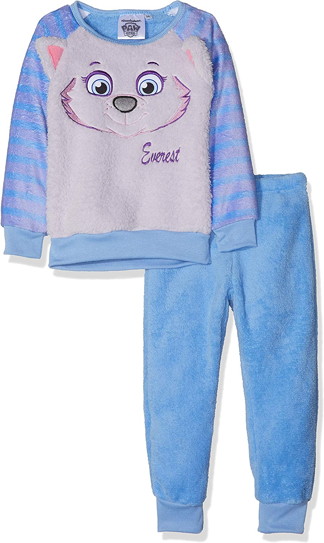Nickelodeon Paw Patrol Skye and Everest Face Cosy Fleece Long Sleeve Pyjamas