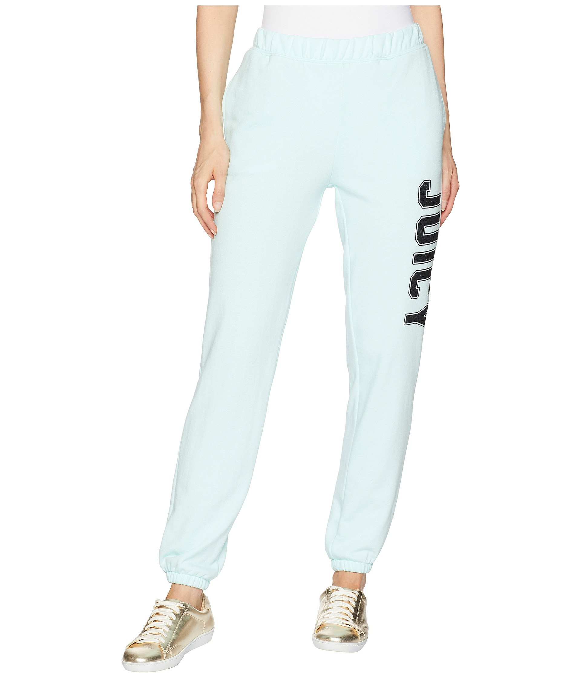 Juicy Couture Women's Pull-On Pant w/Logo Blue Light Small 29