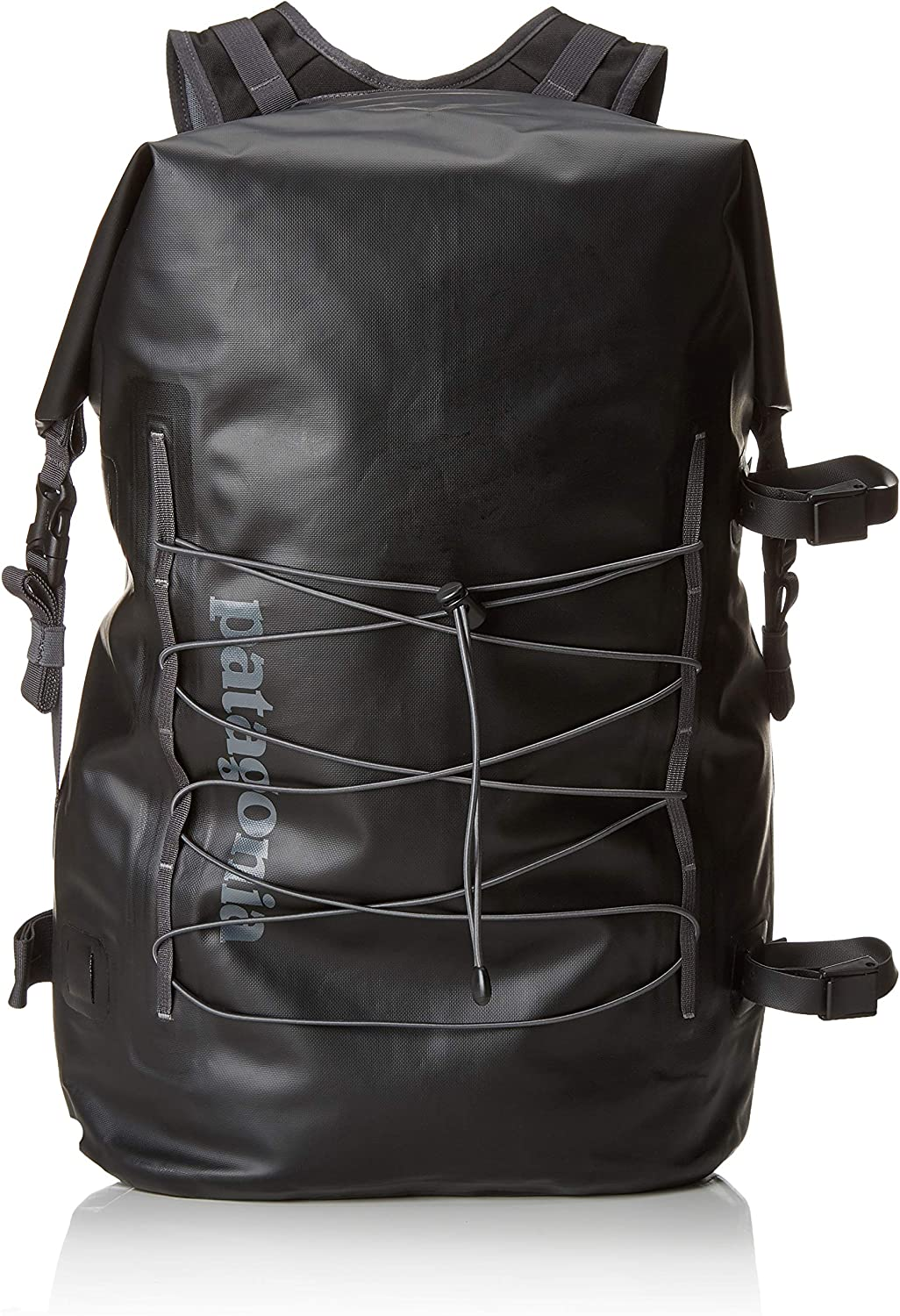 Patagonia Stormfront Roll Top Pack Mochila, Unisex Adultos, Negro ...