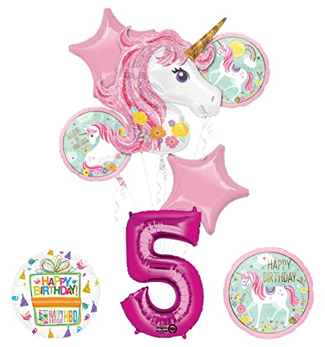 Amazon Unicorn Party Supplies Believe In Unicorns 5th