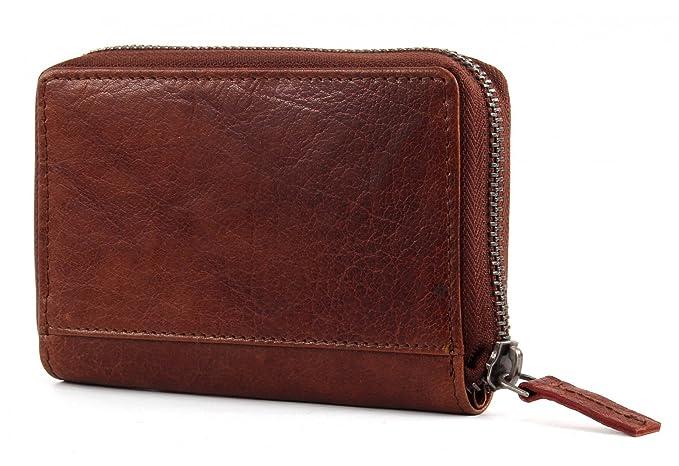 SPIKES & SPARROW Bronco S Wallet Brandy: Amazon.es: Zapatos y complementos
