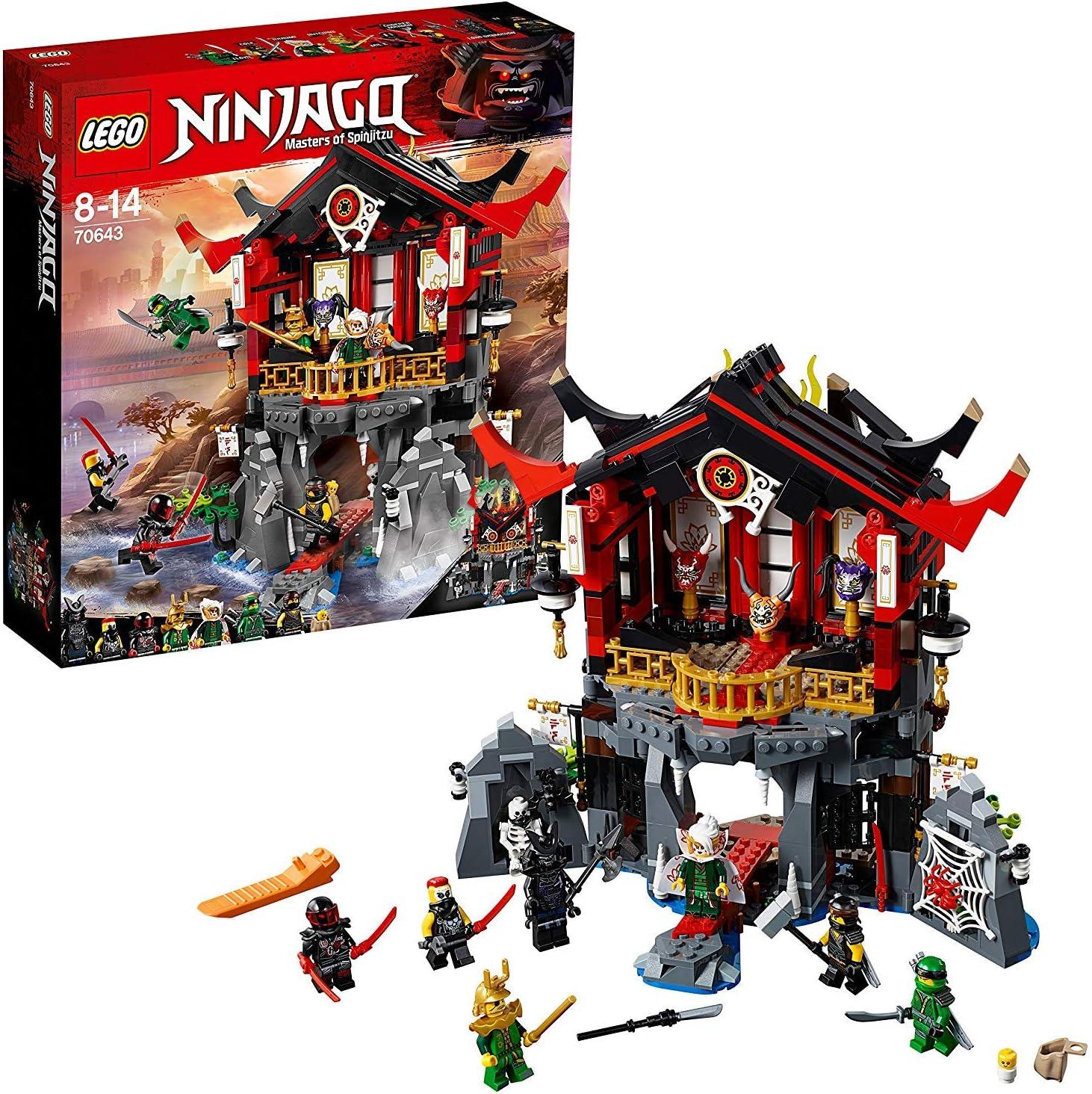 New Ninjago LEGO® Cole Sons of Garmadon Black Ninja Minifigure 70643 Genuine
