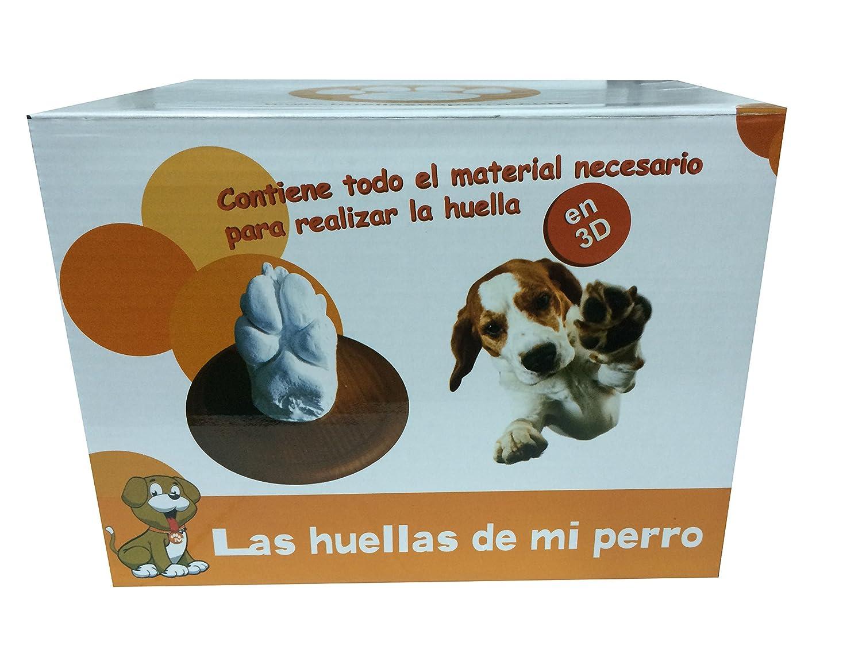 Las Huellas De Tu Perro En 3D, Kit Todo Incluido: Amazon.es ...