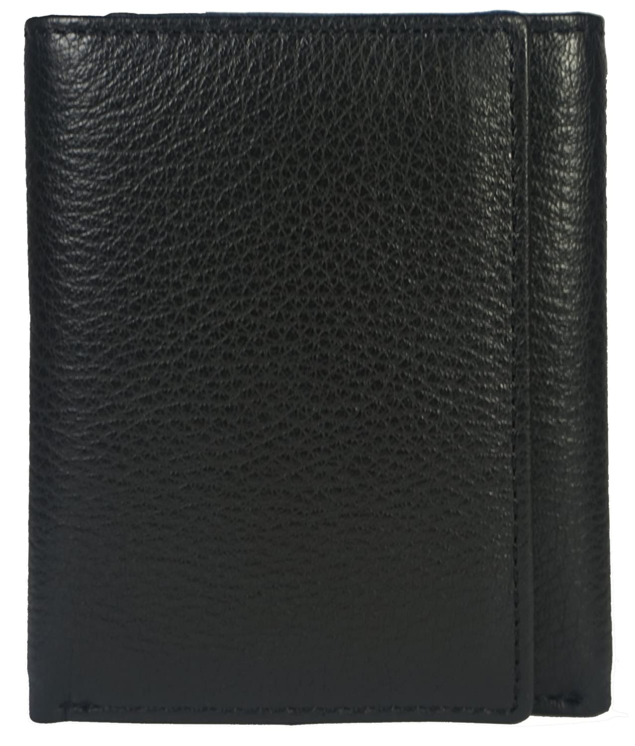 Mens Trifold Wallet Extra Capacity 8 Inside Slots 2 Id Windows By Bullz