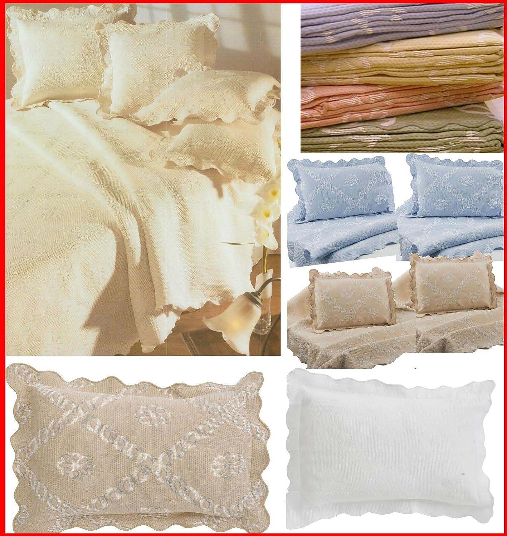 Algodón láser de colcha estilo Portuguesa de mezcla de algodón colcha/manta para cama de matrimonio Cadiz para sofá ...