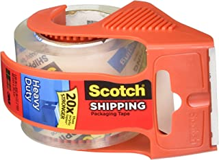 product image for Scotch Heavy Duty Shipping Packaging Tape, 1.88 Inch x 800 Inch, Clear (Pack of 4)
