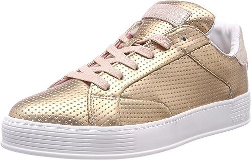 Replay Lowa, Sneakers Basses Femme, Rose (Copper), 37 EU