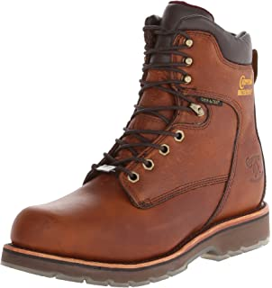 Chippewa Menu0027s 8 Inch Tan 25228 Rugged Boot