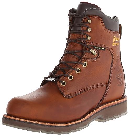 Chippewa Menu0027s 8 Inch Tan 25228 Rugged Boot,Brown,8 EE US