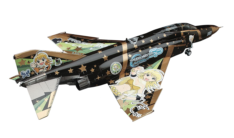 F-4 EJ Kai Phantom II THE iDOLMASTER Miki Hoshii 1 72 [Toy] (japan import)