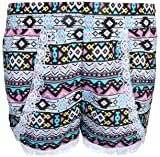 dollhouse Girls 4-Piece Graphic Top and Short