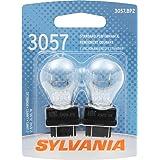 SYLVANIA 3057 Basic Miniature Bulb, (Contains 2 Bulbs)