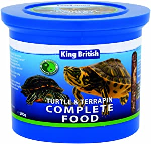 King British (2 Pack) Turtle and Terrapin Food 200g