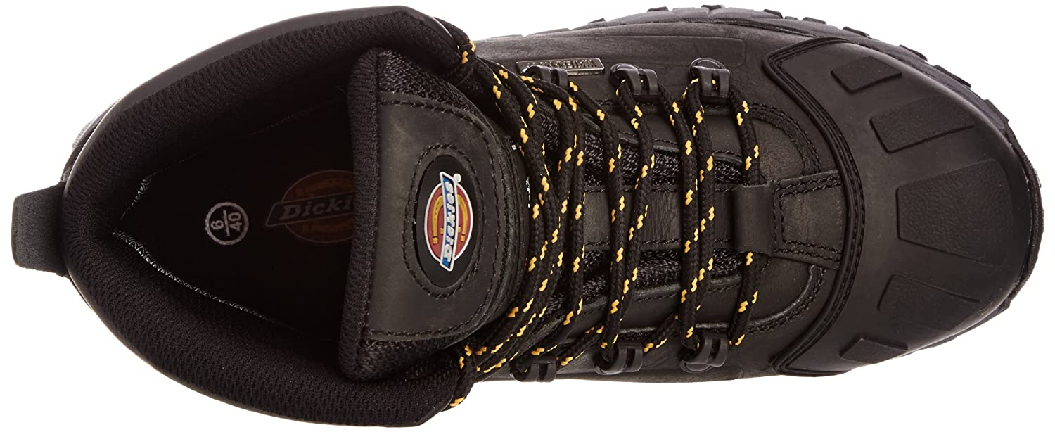 Amazon.com: Dickies Unisex Medway Super Steel Toe-cap Safety S3 Boot / Workwear (12.5 US) (Black): Industrial & Scientific
