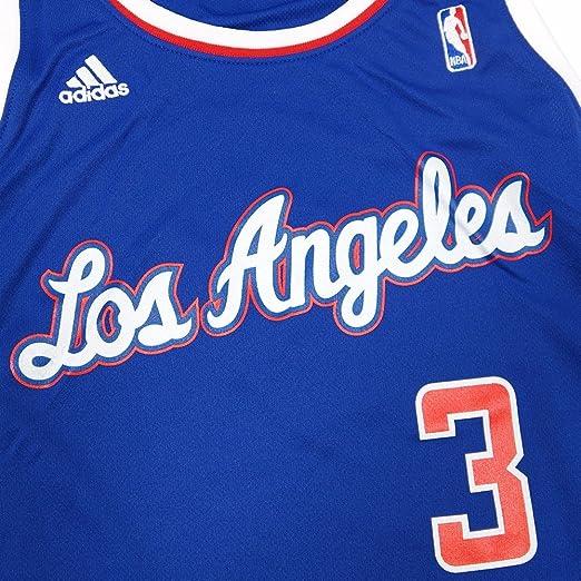 e9d82cf1f46c Amazon.com   adidas Chris Paul Los Angeles Clippers NBA Women s Blue  Replica Jersey   Sports   Outdoors