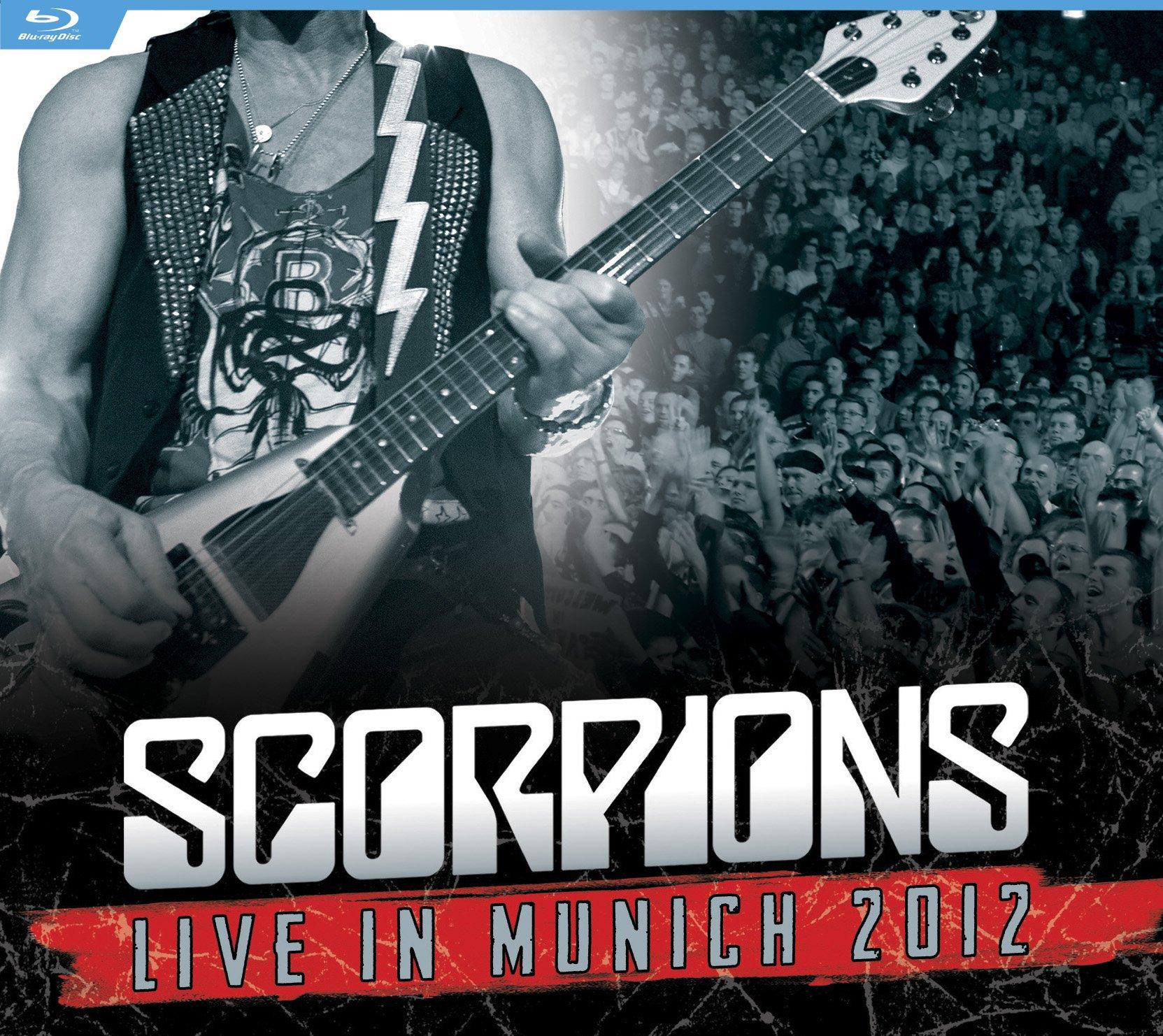 Blu-ray : Scorpions - Live In Munich 2012 (Blu-ray)