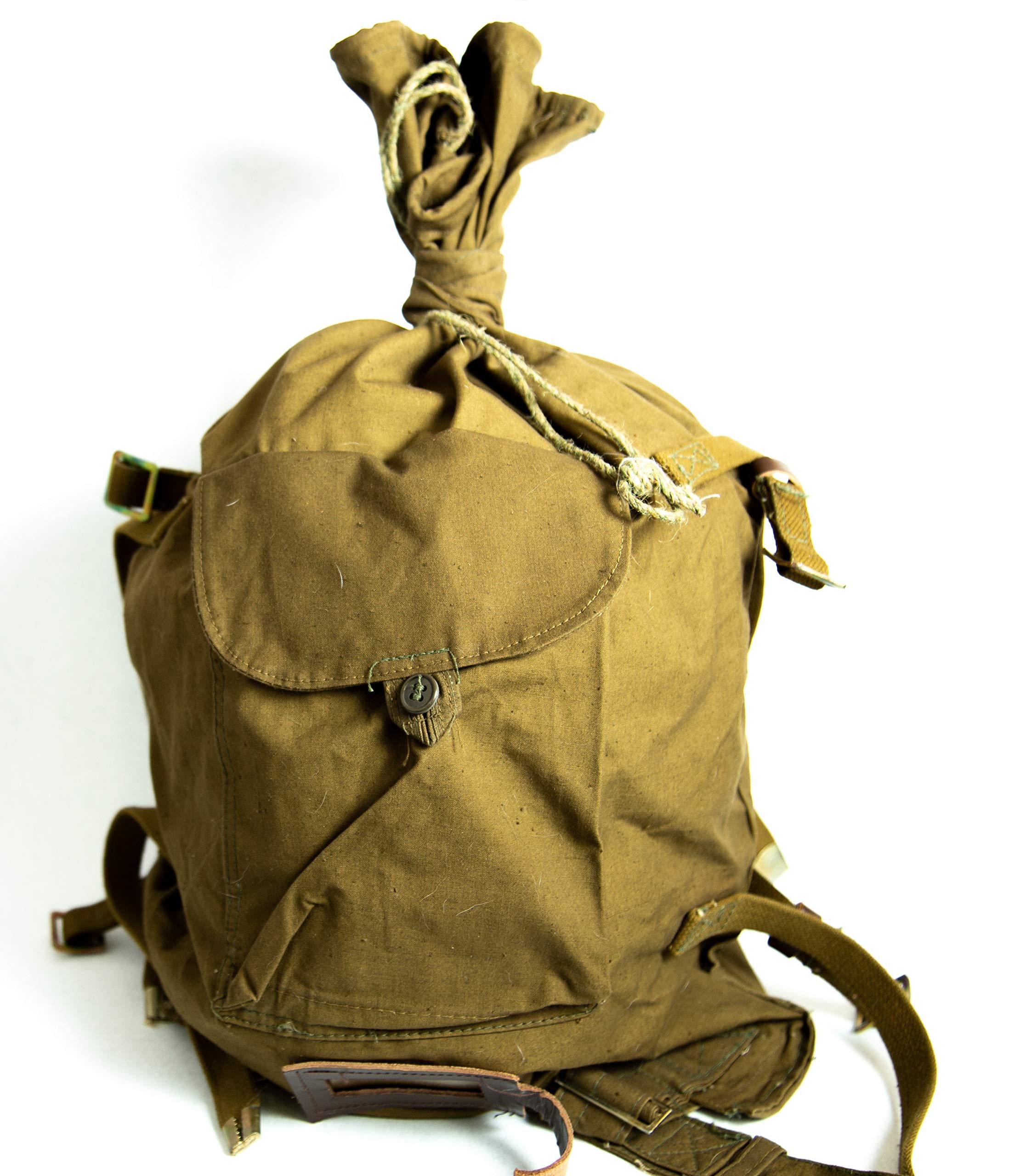 WW2 Bag USSR haversack uniform backpack knapsack original 1960-70s FATHRT'S DAY GIFT
