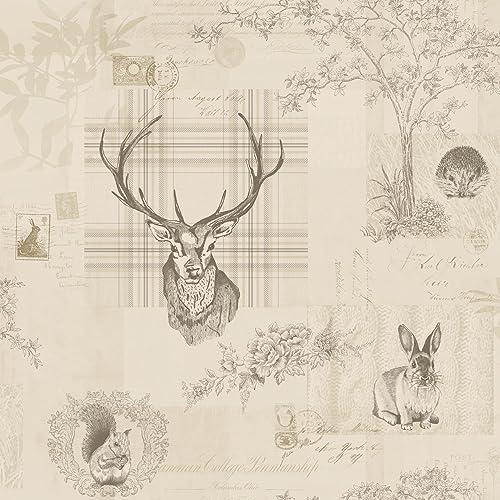 deer wallpaper amazon co uk