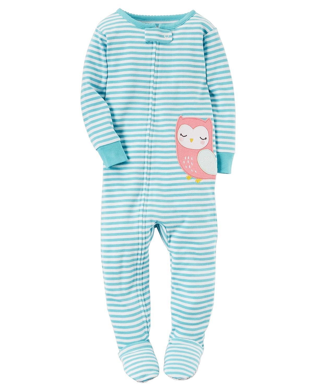 Carter's Toddler Girls Lightweight Snowman Sleeper Footie Pajama Sleep & Play Carters