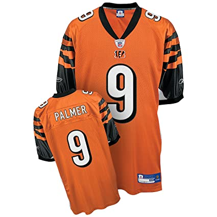 c528f595e Image Unavailable. Image not available for. Color  Reebok Cincinnati  Bengals Carson Palmer Authentic Alternate Jersey ...