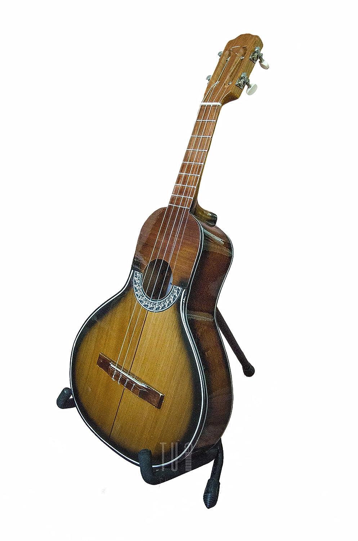Bandola Llanera madera de cedro color oscuro auténtico de Venezuela Llanos: Amazon.es: Instrumentos musicales