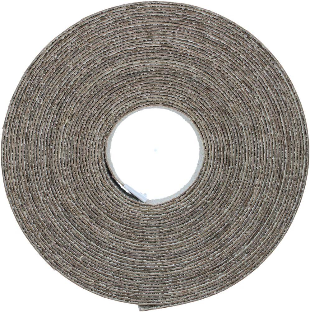 Hohe Qualit/ät 7,5m Rolle 22mm Echt Nussbaum Vorgeklebt Holzfurnierband f/ür die Einfache DIY-Anwendung Bedeckt den Rand eines Standard-MDF-Panels Eisen-On Kantenanpassung