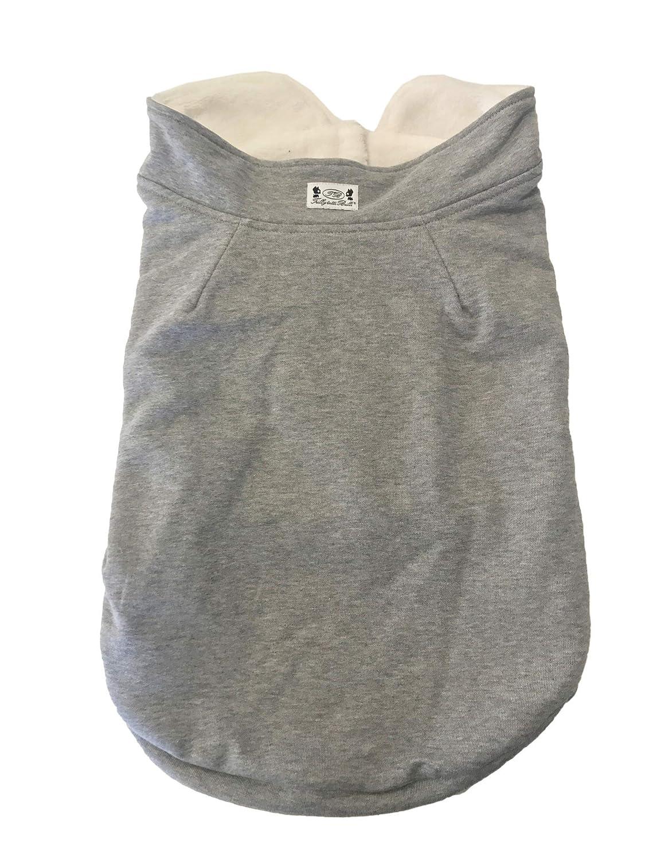 Trilly All Brilli Bulldog Sweatshirt Interior Plush, Grey, S 1 Product
