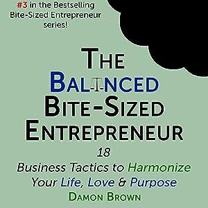 The Balanced Bite-Sized Entrepreneur: 18 Business Tactics to Harmonize Your Life, Love & Purpose (The Bite-Sized Entrepreneur, Book 3)