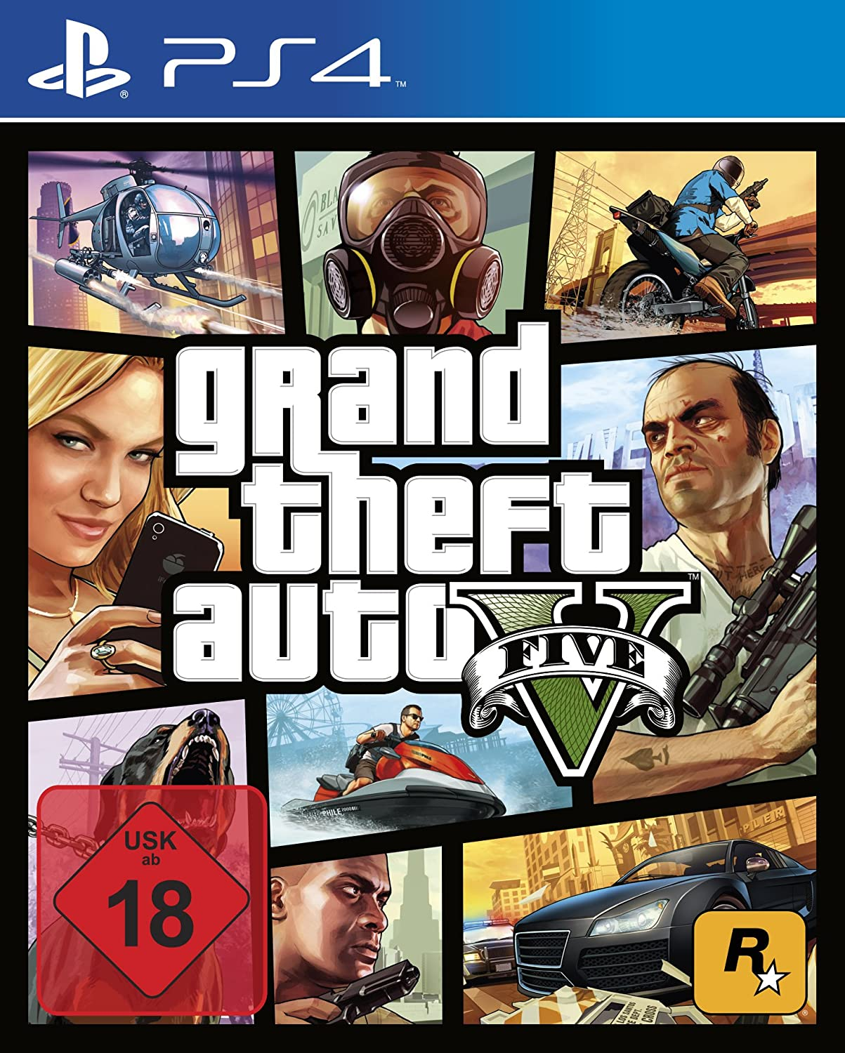 Grand Theft Auto V PS4 amazon