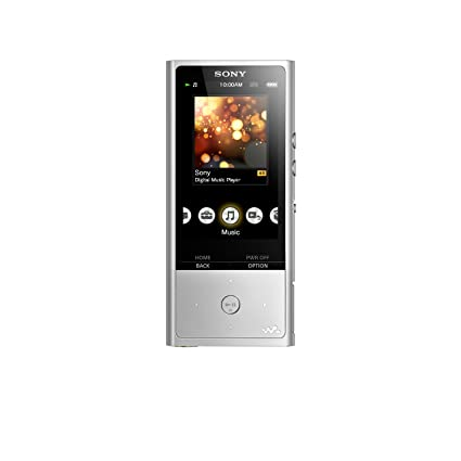 SONY Walkman NW-ZX100 128G High-resolution sound, Silver, No Volume Limit at amazon