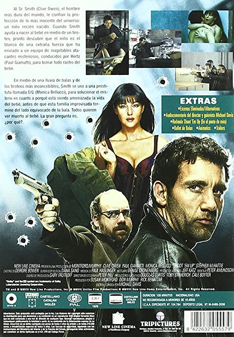 Amazon.com: ShootEm Up (En El Punto De Mira) (Import Movie ...