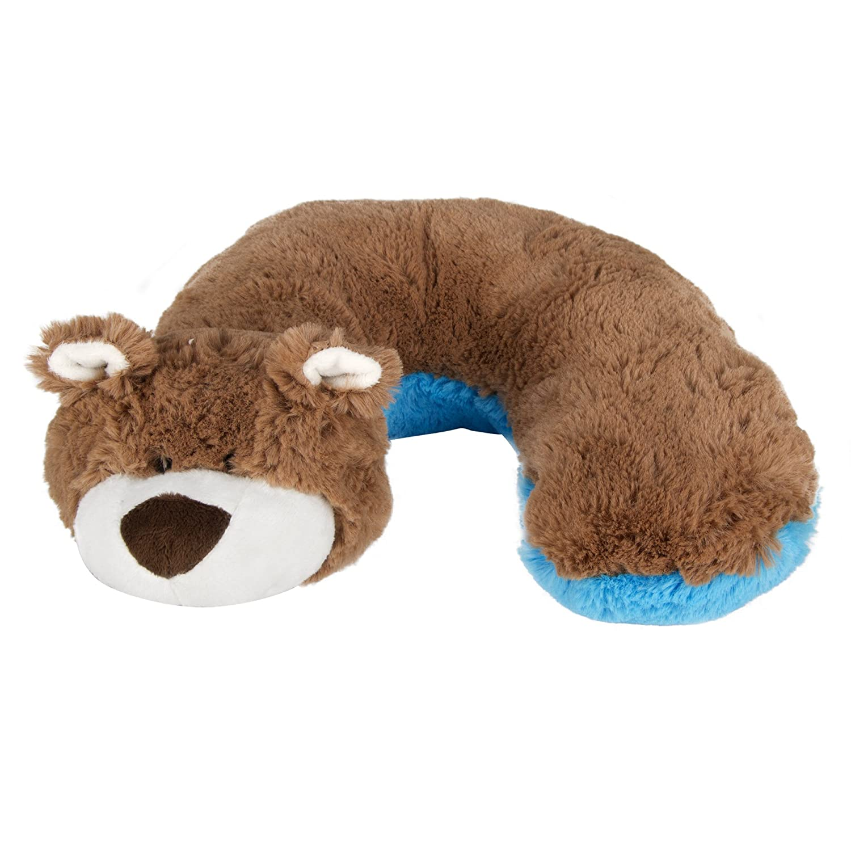 Animal Planet Travel Pillow for Kids, Bear HIS Juveniles 60111