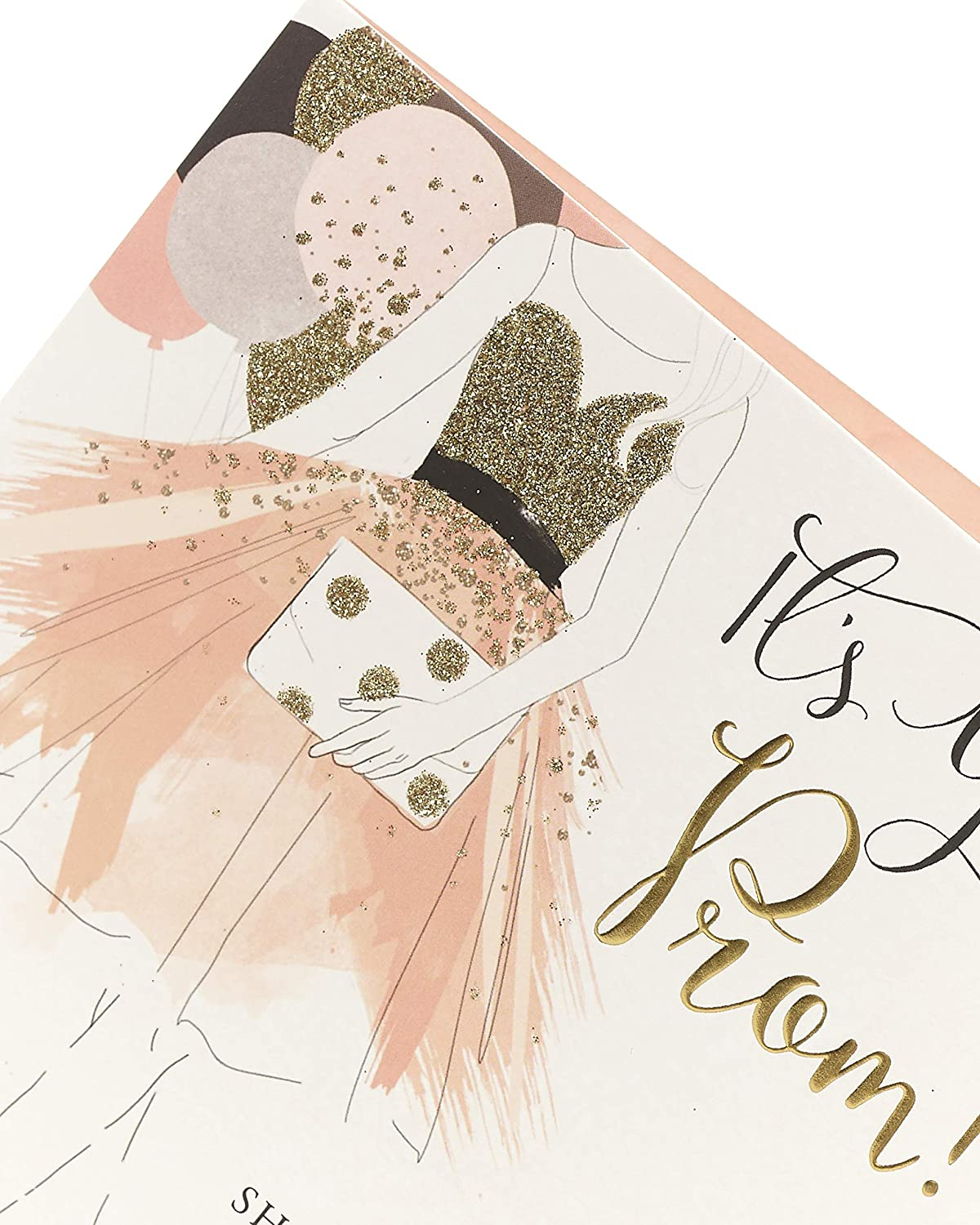 Personalised Prom Night Card for Daughter//Granddaughter etc Boxed Any colour