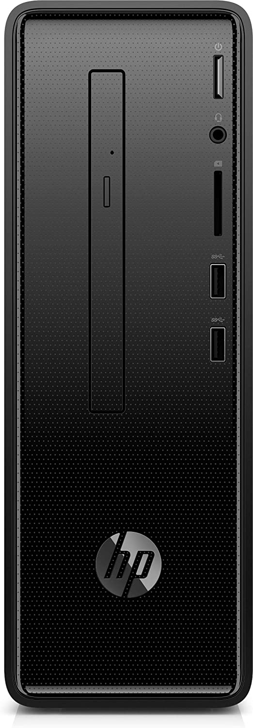 2018 HP - Slim Desktop - Intel Core i7-8GB Memory - 1TB Hard Drive - HP Finish in Dark Black