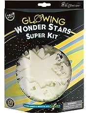 University Games Great Explorations Wonder Stars Super Kit - Estrellas de Techo (150 Unidades, Reutilizables, Adhesivas, para Masilla y constelación, diseño de Mapa de Estrellas)