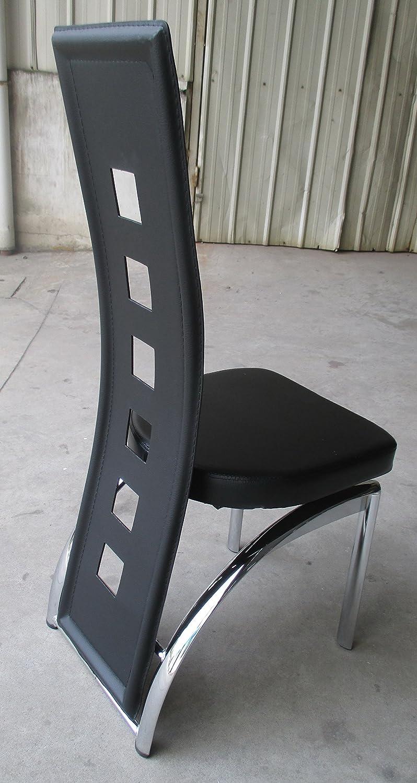 Calabaza Designer Esstisch-Set Black Edition Esszimmer Set Tisch ...