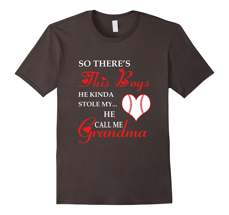 He Kinda Stole My Heart, he Call Me Aunt Baseball T-Shirt