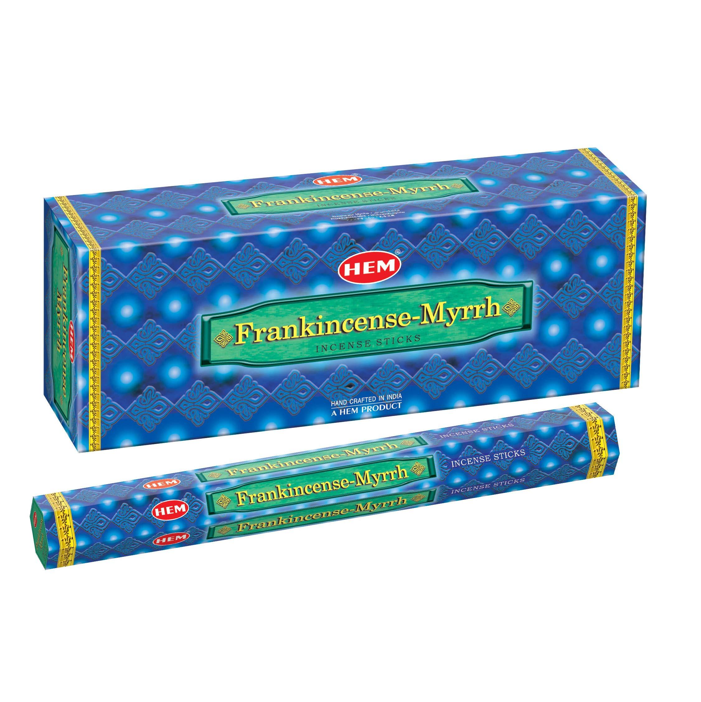 Hem Frankincense & Myrrh, 120 Sticks Box