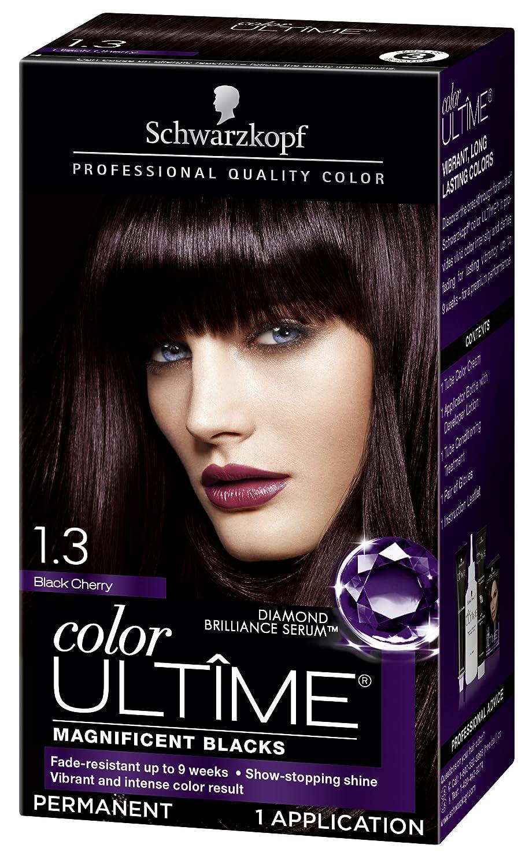 Amazon Schwarzkopf Color Ultime Hair Color Cream 13 Black