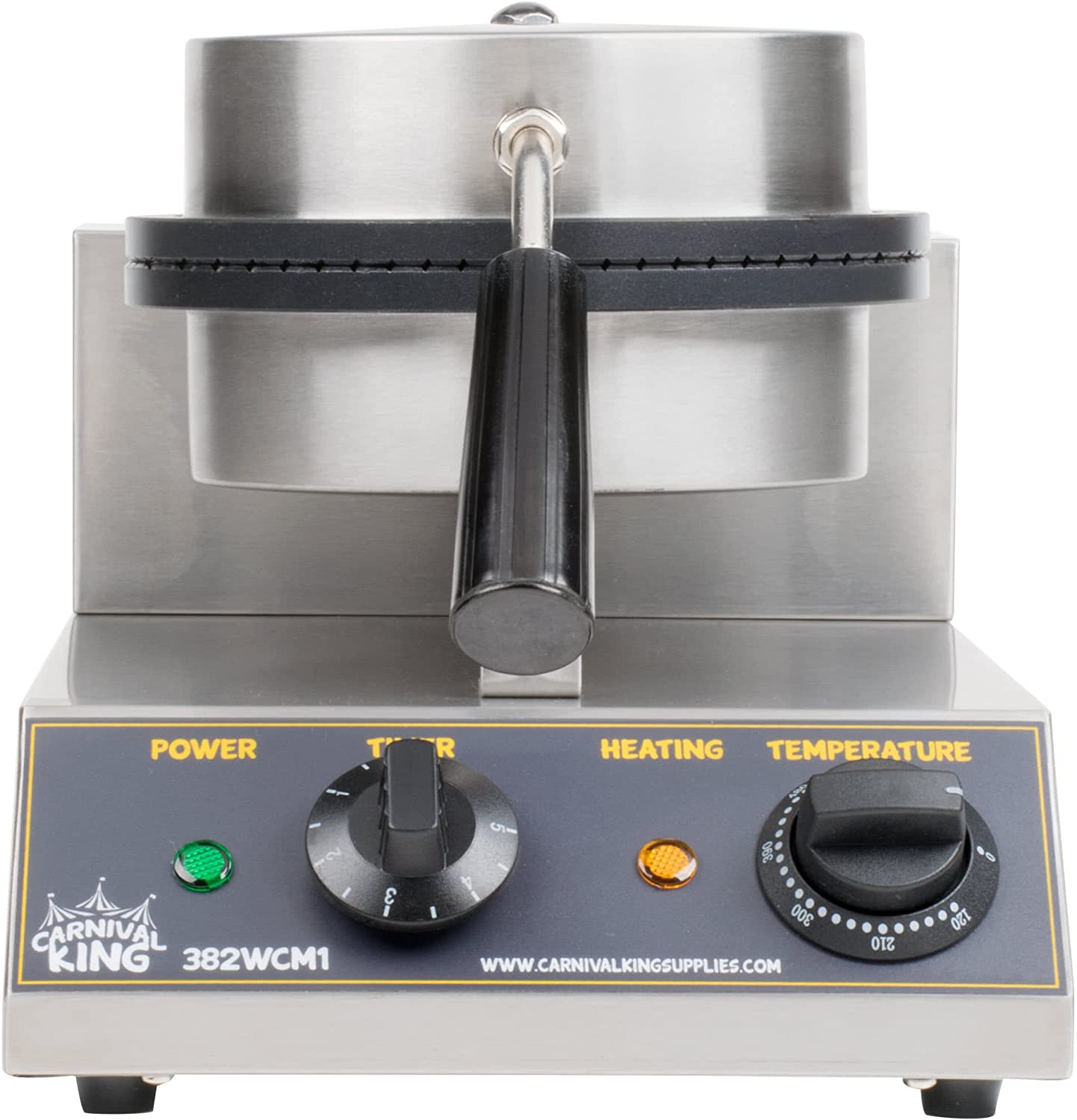 "The Carnival King WCM1 8"" Waffle Cone Maker"